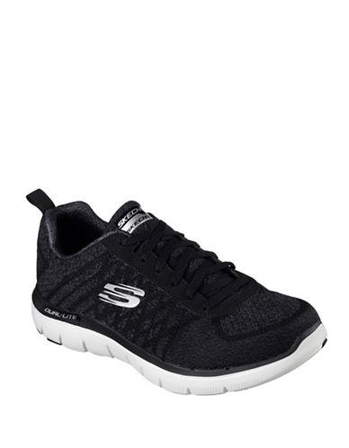 Skechers Flex Advantage 2.0 Golden Point Athletic Sneakers-BLACK-9 89039916_BLACK_9