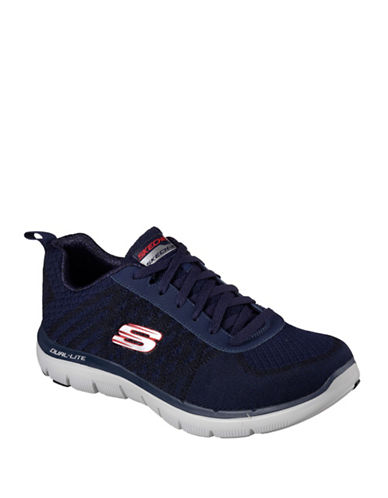 Skechers Flex Advantage 2.0 Golden Point Athletic Sneakers-NAVY-7 88625062_NAVY_7