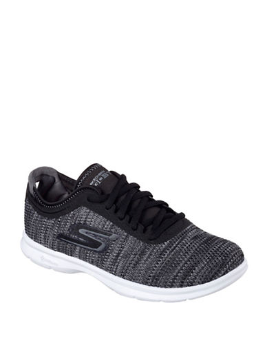 Skechers Go Step Prismatic Running Shoes-BLACK-9 88461015_BLACK_9