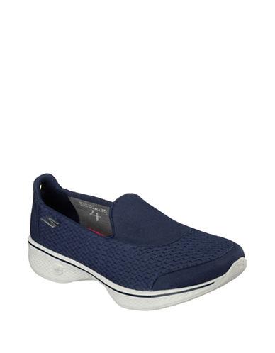 Skechers Go Walk 4 Pursuit Running Shoes-NAVY-8 88460947_NAVY_8