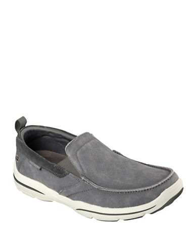 Skechers Harper Loafers-GREY-8.5