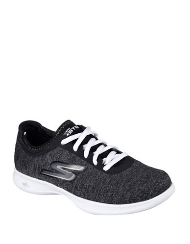 Skechers Go Step Lite Agile Sneakers-BLACK-10