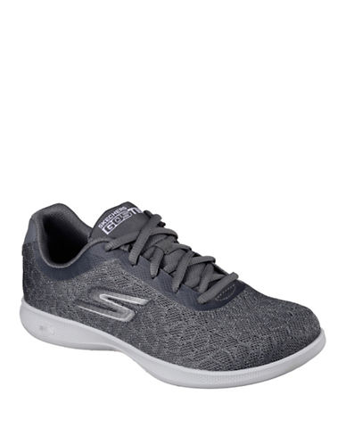 Skechers Womens Go Step Light Sneakers-GREY-5
