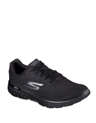 Skechers Go Run 400 Generate Sneakers-BLACK-13 89040007_BLACK_13