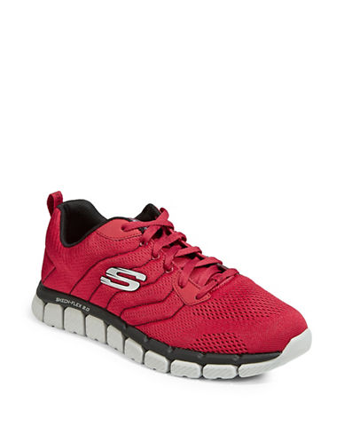 Skechers Flex 2.0 Milwee Sneakers-RED-9.5