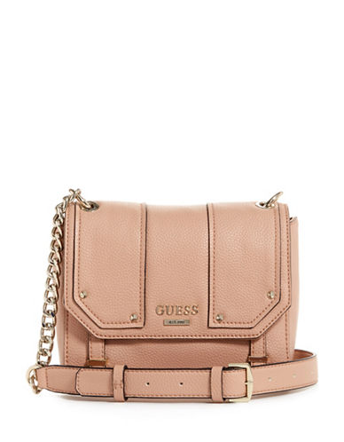 Guess Rikki Crossbody Bag-PINK-One Size