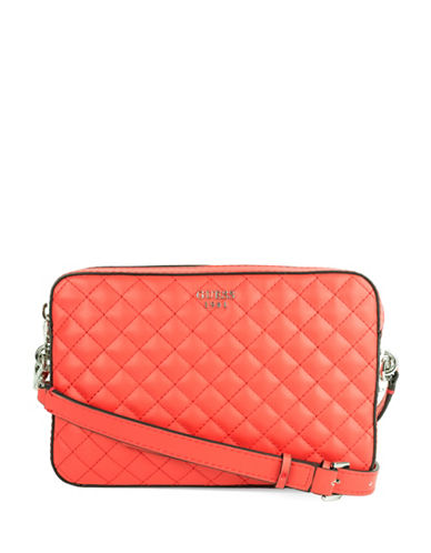 Guess Rochelle Crossbody Bag-RED-One Size