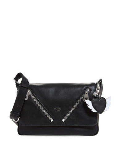 Guess Bradyn Crossbody Bag-BLACK-One Size