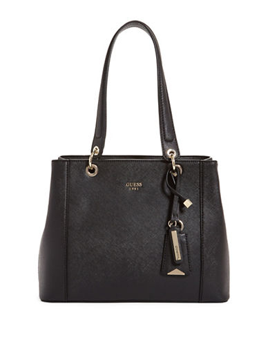 Guess Kamryn Shopper Bag-BLACK-One Size