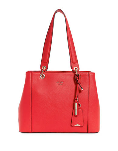 Guess Kamryn Shopper Bag-RED-One Size