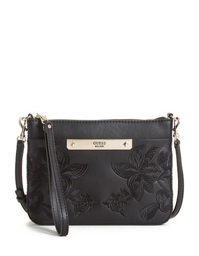 Guess Britta Mini Crossbody Bag-BLACK-One Size
