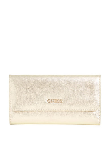 Guess Kinley Multi Clutch-GOLD-One Size