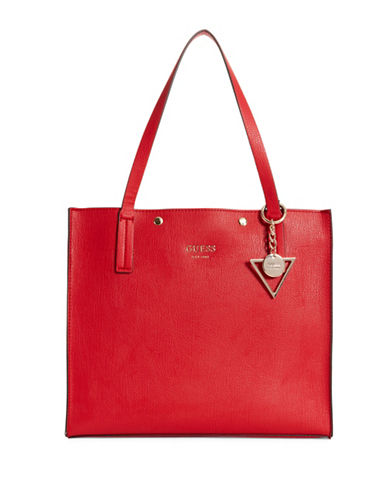 Guess Kinley Carryall-RED-One Size