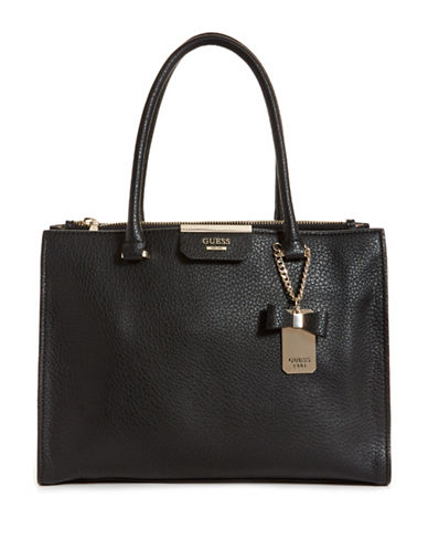 Guess Ryann Society Carryall Bag-BLACK-One Size