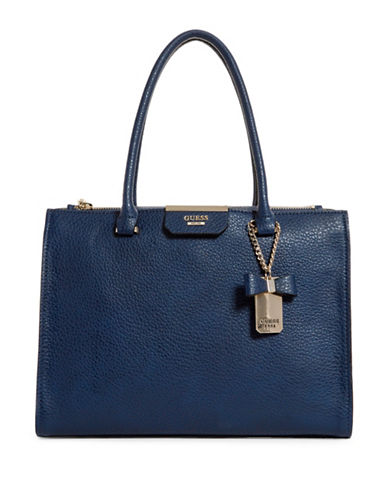 Guess Ryann Society Carryall Bag-BLUE-One Size