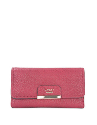 Guess Ryann Clutch-RED-One Size