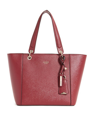 Guess Kamryn Tote Bag-RED-One Size