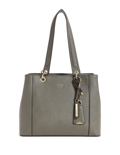 Guess Kamryn Shopper Bag-TAUPE-One Size