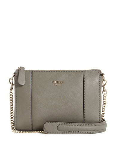 Guess Kamryn Mini Convertible Crossbody-TAUPE-One Size