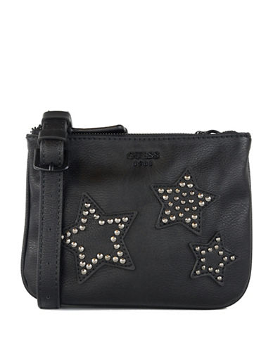 Guess Bradyn Mini Crossbody Bag-BLACK-One Size