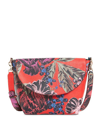 Guess Bobbi Inside Out Crossbody Bag with Pouch-MULTI-One Size