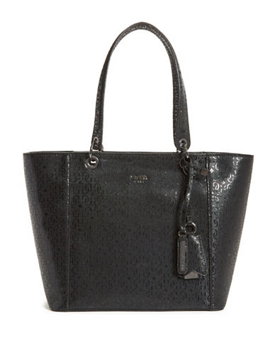 Guess Kamryn Tote-BLACK-One Size