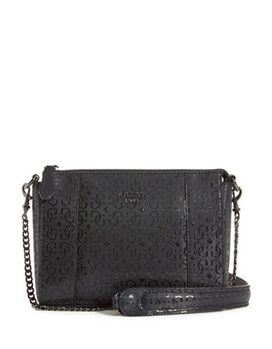 Guess Kamryn Crossbody Bag-BLACK-One Size
