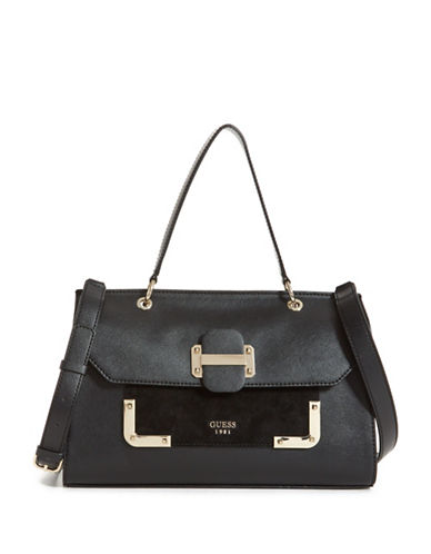 Guess Tepper Shoulder Bag-BLACK-One Size