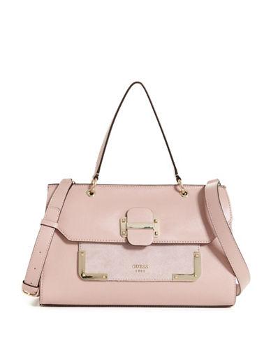 Guess Tepper Shoulder Bag-PINK-One Size
