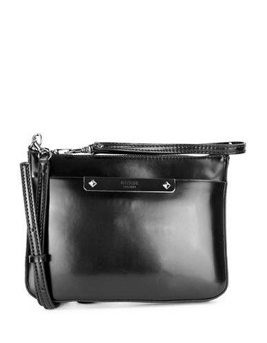 Guess Britta Mini Crossbody Bag-BLACK-One Size
