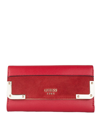 Guess Tepper Clutch-RED-One Size