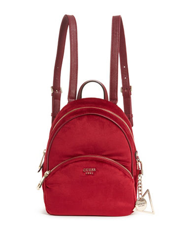 Guess Brandyn Small Backpack-RED-One Size