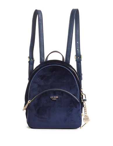 Guess Brandyn Small Backpack-NAVY-One Size