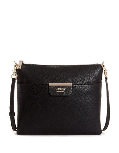 Guess Ryann Digital Crossbody Bag-BLACK-One Size