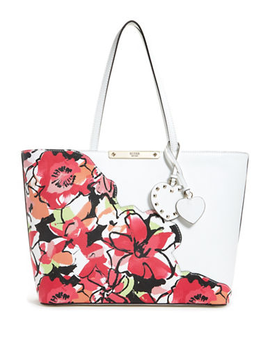 Guess Britta Tote-FLORAL-One Size