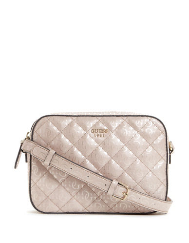 Guess Kamryn Crossbody Bag-PINK-One Size