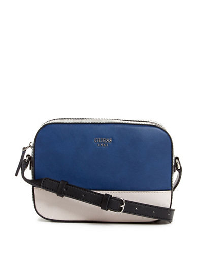 Guess Kamryn Colourblock Crossbody-NAVY-One Size