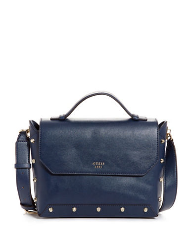 Guess Kaia Crossbody Bag-NAVY-One Size