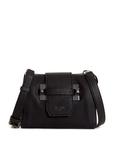 Guess Talan Crossbody Bag-BLACK-One Size