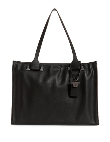 Guess Talan Tote-BLACK-One Size
