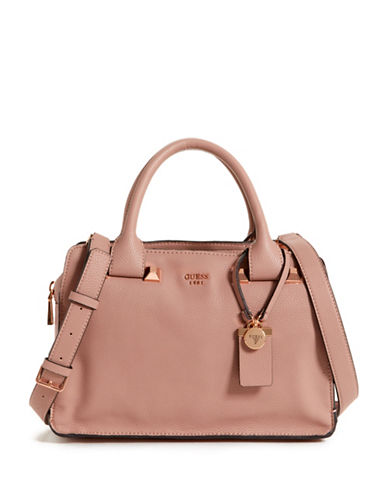 Guess Talan Girlfriend Satchel-ROSEWOOD-One Size