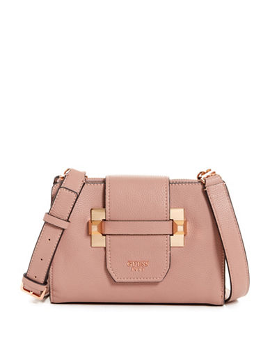 Guess Talan Crossbody Bag-ROSEWOOD-One Size