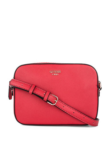 Guess Kamryn Crossbody Bag-RED-One Size