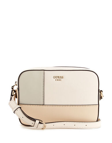 Guess Kamryn Crossbody Bag-STONE-One Size