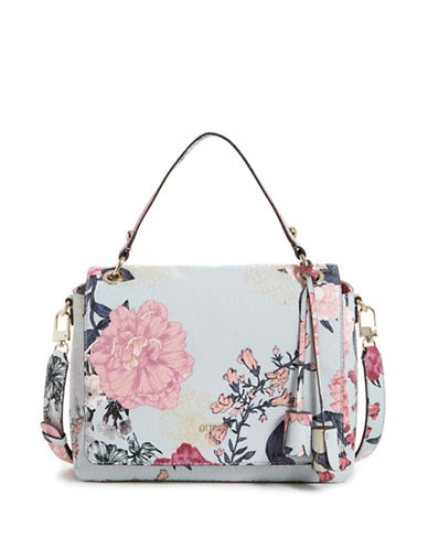 Guess Seraphina Floral Satchel-FLORAL-One Size