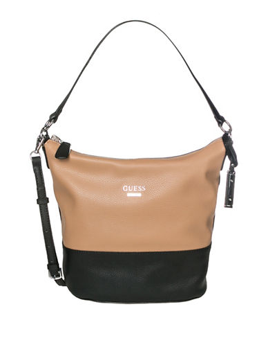 Guess Edmore Hobo Bag-MULTI-One Size