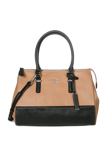 Guess Edmore Satchel-TWO TONE-One Size