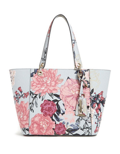 Guess Kamryn Floral Tote-FLORAL-One Size