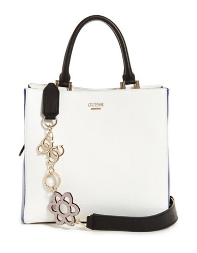Guess Dania Girlfriend Shopper-WHITE-One Size