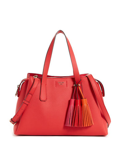 Guess Girlfriend Crossbody Satchel-POPPY-One Size
